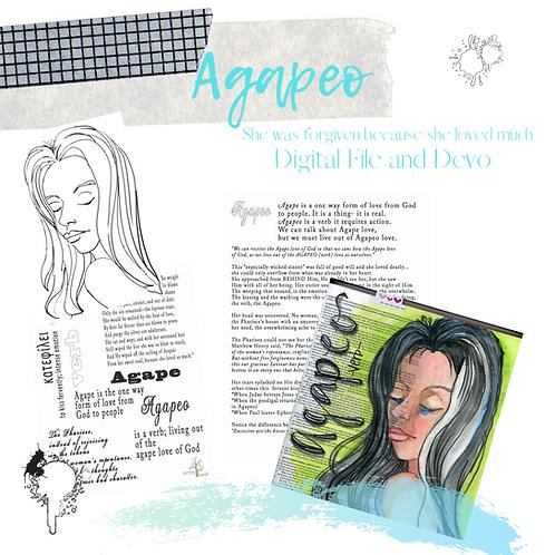 Agapeo Digital File (includes Devo)
