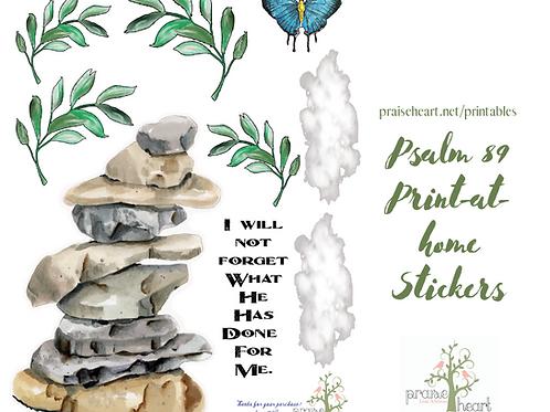 Psalm 89, Part Three Digital Files