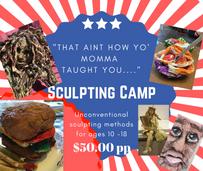sculpting camp