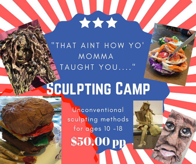 sculpting camp