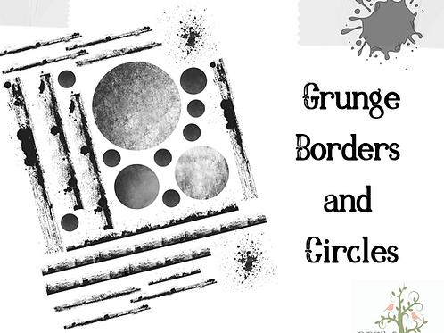 Grunge Borders and Circles