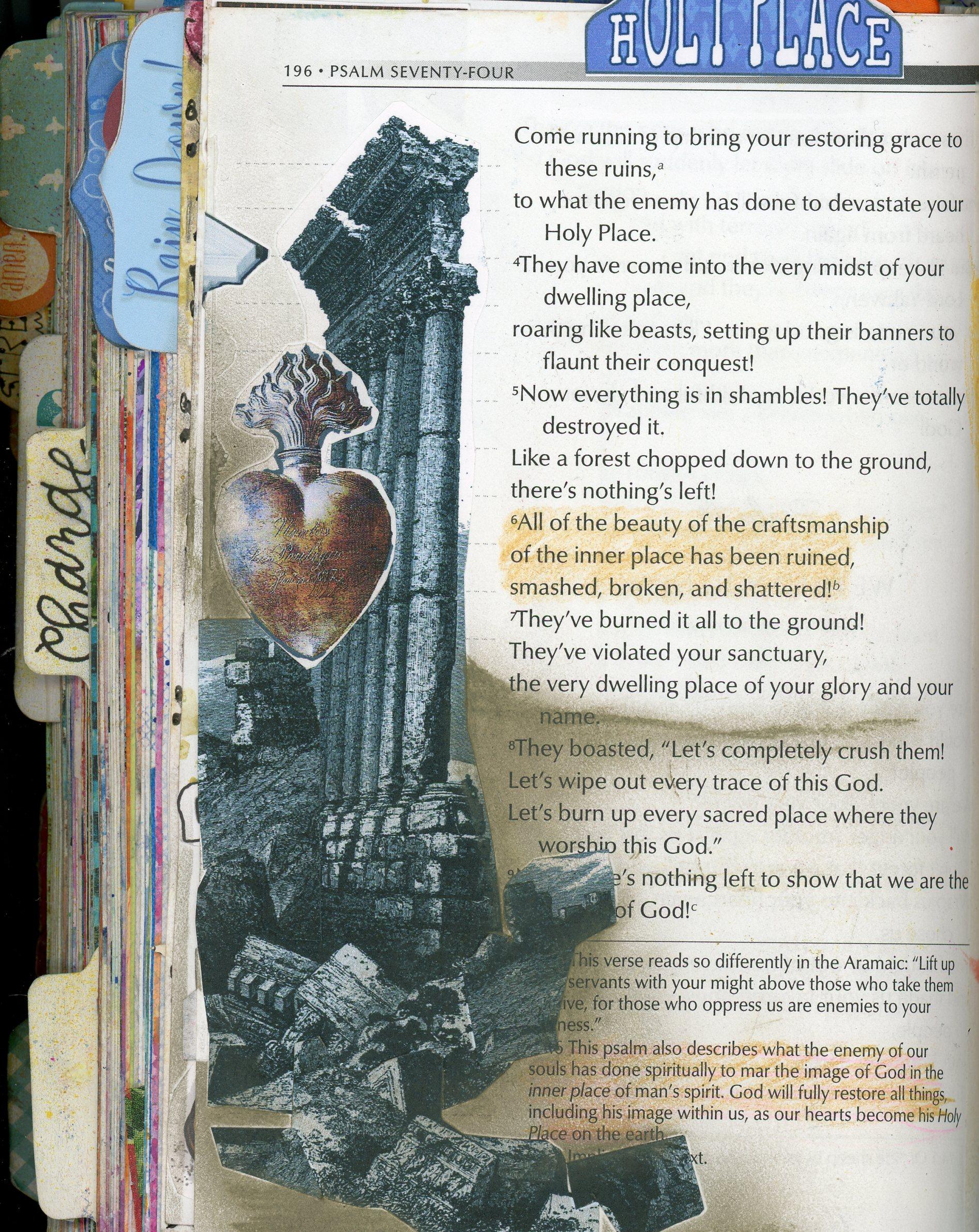 Psalm 74 Printables