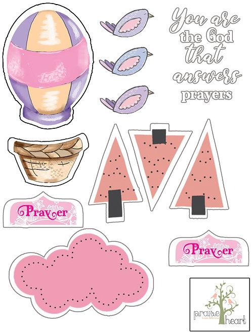 Psalm 65 Stickers