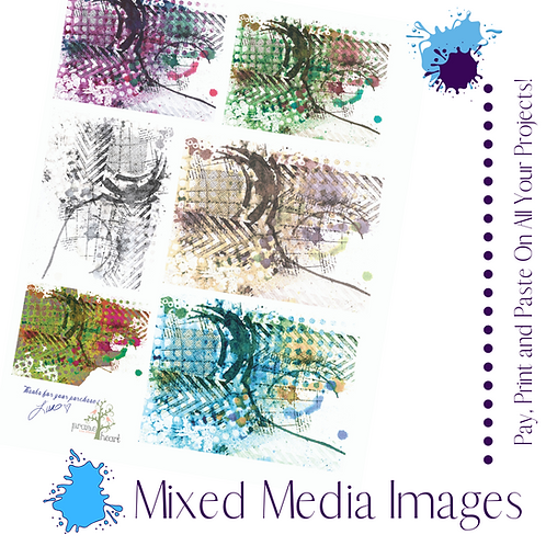 Mixed Media Images Digital Files