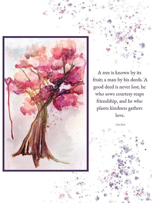 Fruit Tree 5x7 print
