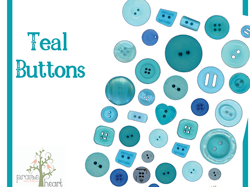 Teal Buttons