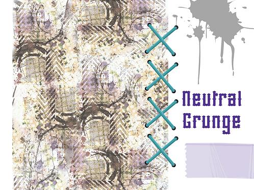 Neutral Grunge Full Sheet