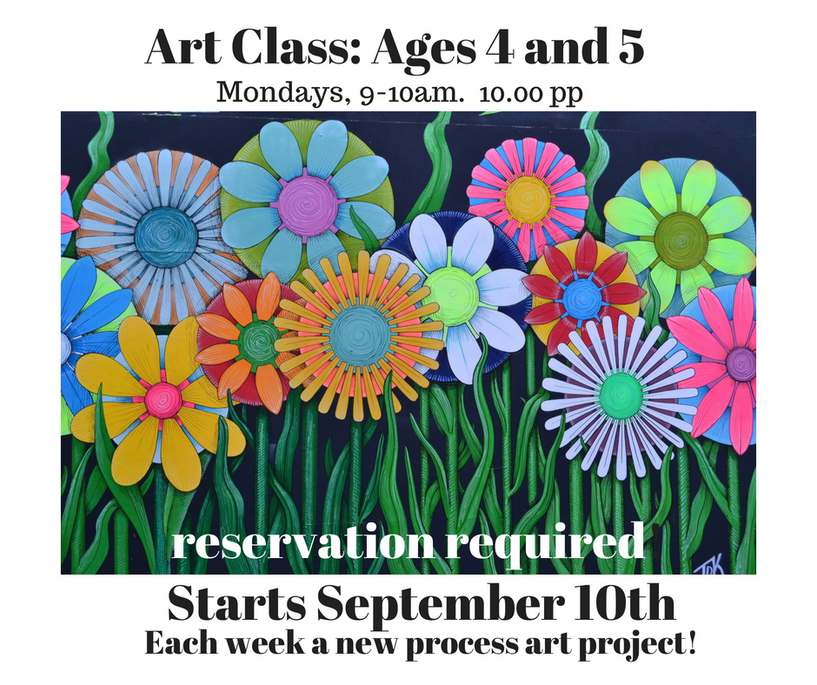 Art Class_ Ages 4 and 5