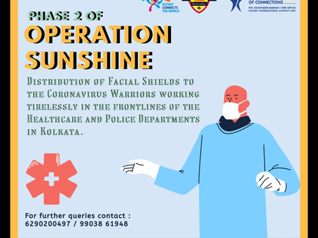 Operation Sunshine Phase 2 & 3