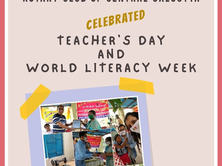 Teacher's Day & World Literacy Week