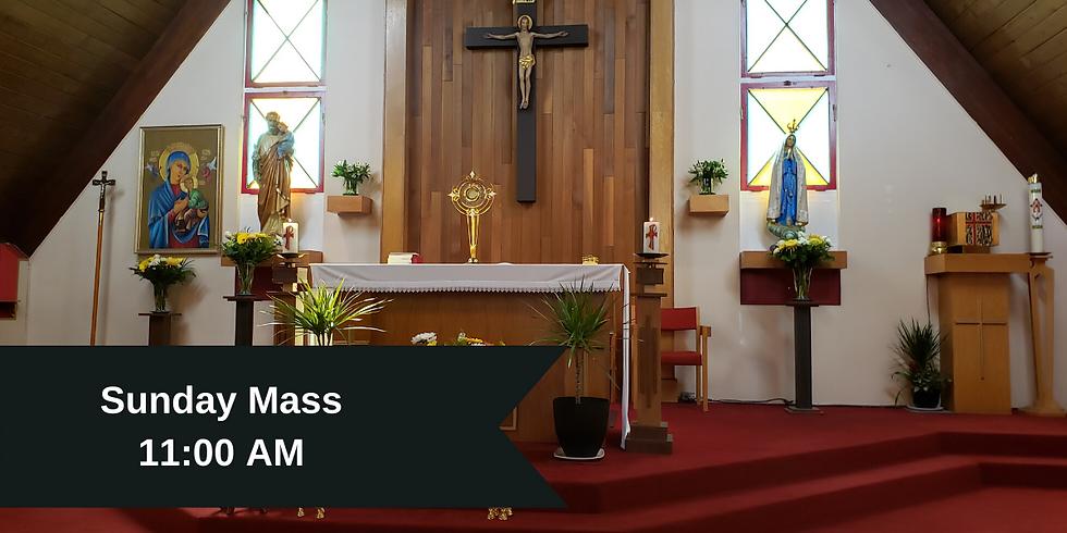 Sunday Mass 11:00 AM