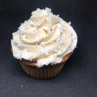 Dulces Feast Coconut Cream Cupcake