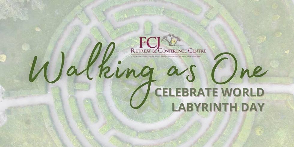 Walking as One, Celebrate World Labyrinth Day