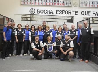 Bocha: ypiranguistas recebem atletas do C.E Pinheiros para torneio comemorativo
