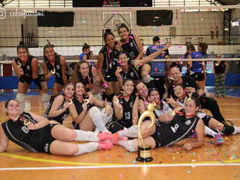 Vôlei: categoria Infanto Juvenil garante título  da Série Ouro do Sindi-Clube