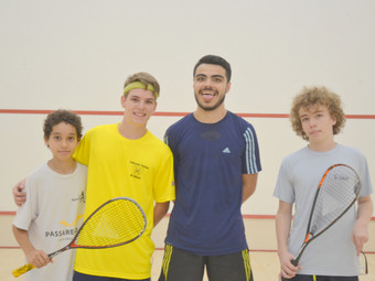 Squash: CAY sedia Circuito Paulista Juvenil