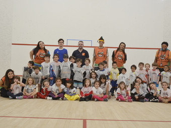 Squash: Recreação com esporte