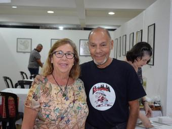 Cultural: exposição 'Meus músicos' esteve no Hall do Ginásio 1