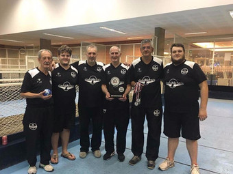 Bocha: categoria Masculino conquista vice-campeonato estadual da Série Prata