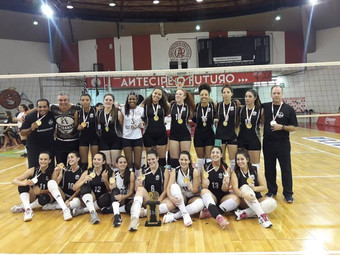 Vôlei: categoria Infanto Juvenil é bicampeã do Campeonato Sindi-Clube