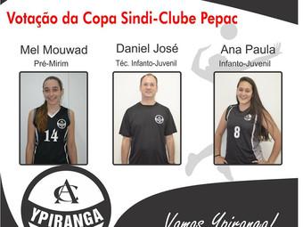 Vôlei: atletas e treinador ypiranguista são indicados aos melhores do ano do PEPAC  Sindi-Clube