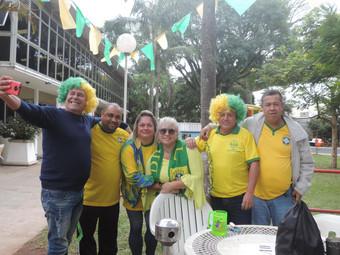 País do futebol: ypiranguistas no clima da Copa