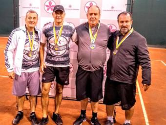 Tênis: categoria 50MC é vice-campeã do Campeonato Interclubes.