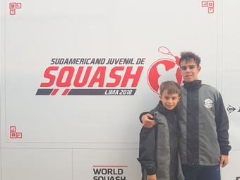 Squash: Ypiranguistas integraram seleção brasileira no Sul-americano Juvenil da modalidade