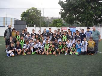 Futebol de Campo: Sub-13 disputou amistoso internacional