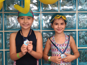 Natação: Festival movimenta as piscinas do CAY