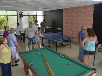 Novos espaços: Inauguração da Sala de Leitura e Salão de Jogos