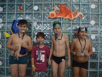 Natação: Complexo Aquático recebeu Festival de Natação Infantil