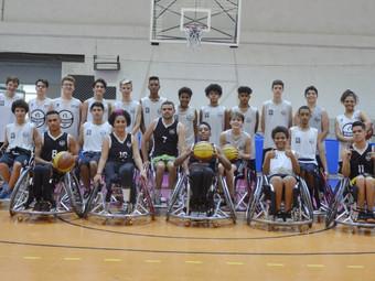 Basquete: alunos do C.F.A realizam amistoso contra equipe cadeirante do Ypiranga