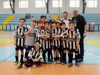 Futsal: categoria Sub-11 garante vice-campeonato do Campeonato Sindi-Clube