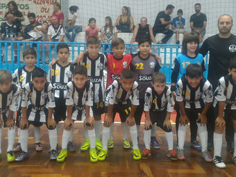 Futsal: Sub-9 e Sub-10 garantem vaga na final do Torneio do clube Gremetal