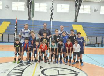 Futsal: Programação especial divertiu associados