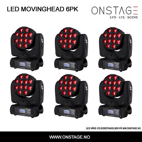 Utleie > Movinghead 6-PAK
