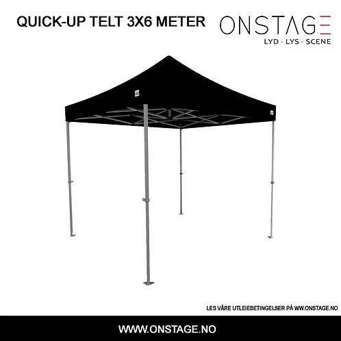 Utleie > Quick-up telt 3x6 meter