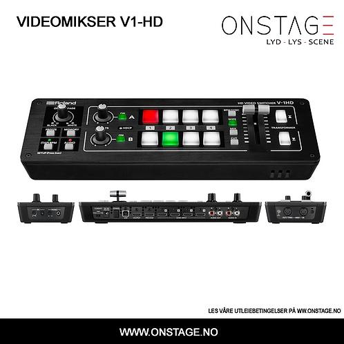 Utleie > Videomikser Roland V1-HD