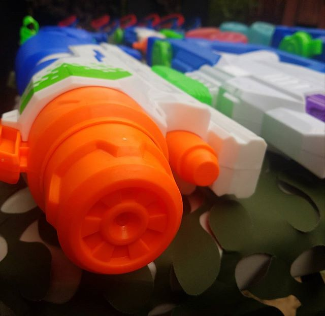 On Target Water Wars, we bring the battle to you!