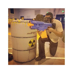 OTB Nerf Wars at On Target BattleZone _On Target BattleZone is a mobile battlefield that Organizes f