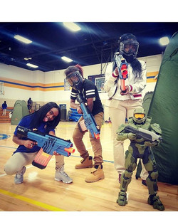 Another successful event Today at On Target BattleZone. We brought the Battle to Mervo High School H