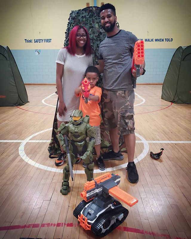 Wishing Caleb a Happy Happy 7th Birthday 🎉🎉 We brought the Battle to you! Best Birthday Ever! _Tha