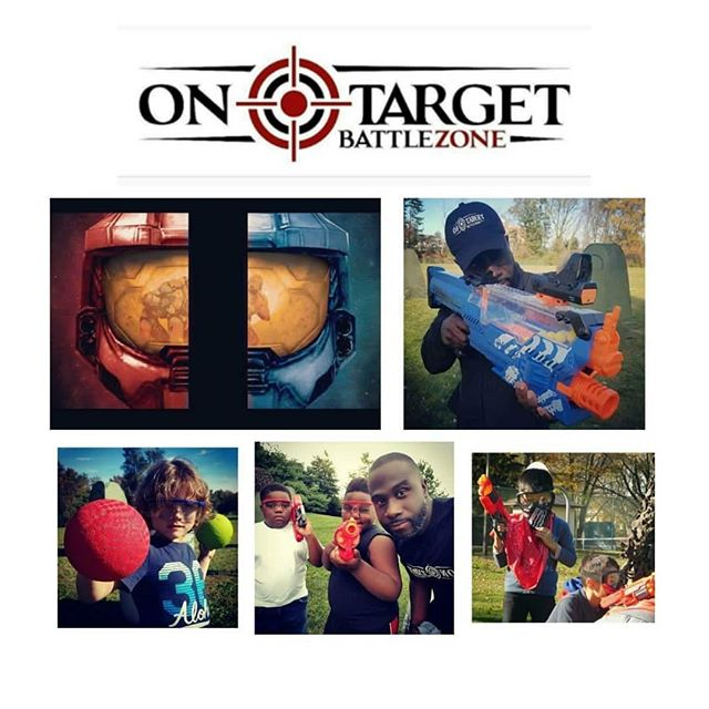On Target BattleZone is a Mobile Operation that organizes fun, safe, competitive Nerf, Dodge and Wat