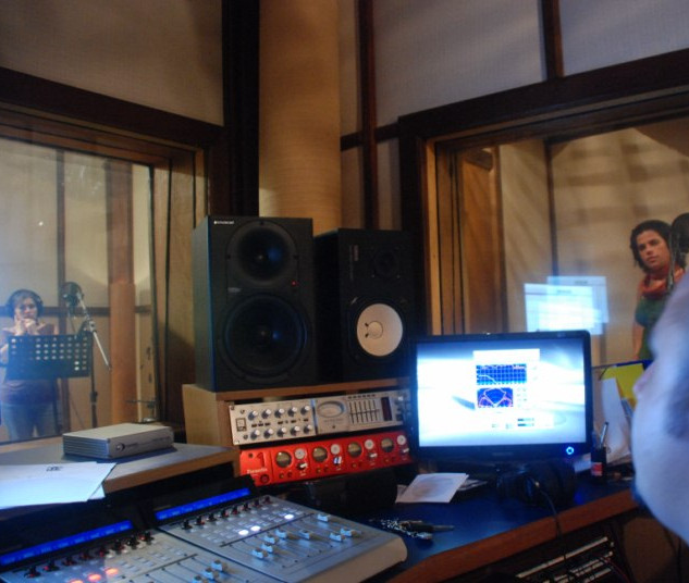 Gravação Projeto Guarará no Estúdio 185