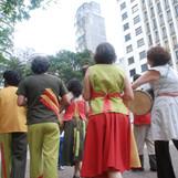 Show Projeto Guarará na praça do Largo do Paissandú, São Paulo - SP