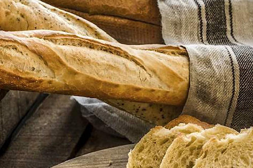 Traditional Homemade French Baguette