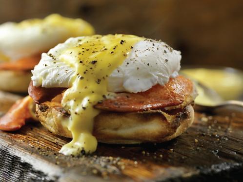 RUBATO'S All Time Classic Eggs Benedict