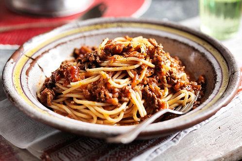 RUBATO 'S Famous Traditional Spaghetti Bolognese