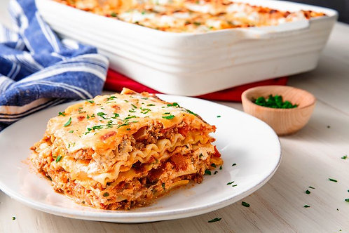 Beef Lasagna - at home